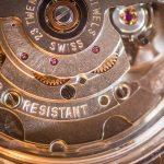 Il meccanismo di un orologio automatico
