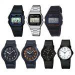 Alcuni dei modelli più venduti di orologi Casio