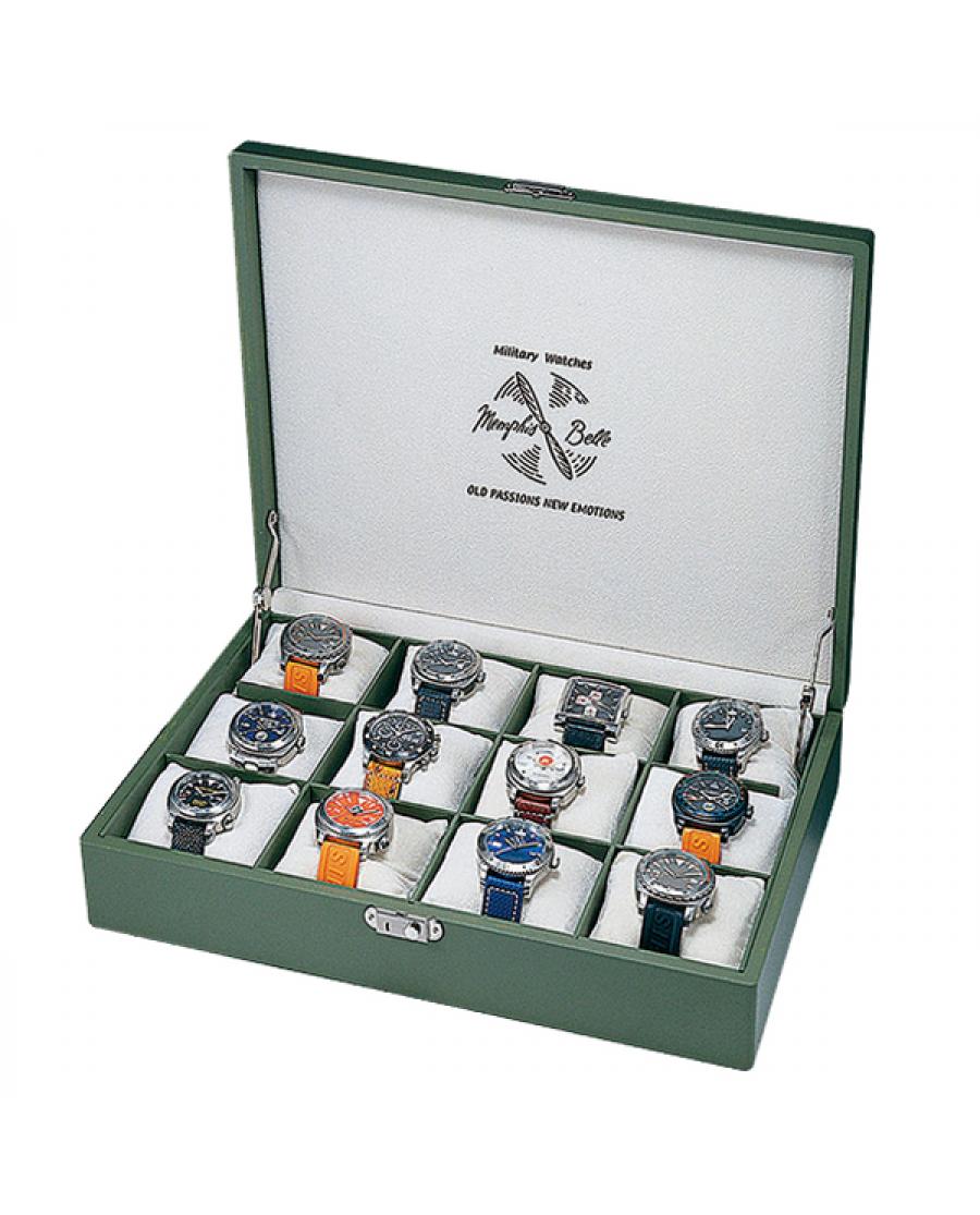 Una scatola porta orologi