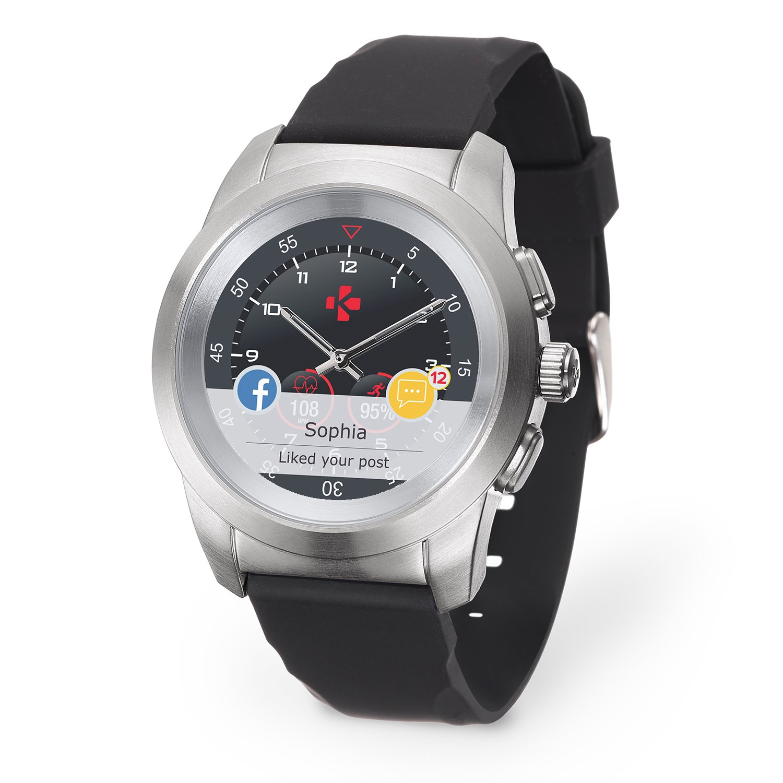 Il MyKronoz ZeTime-Orig-Reg è il primo Smartwatch con Lancette Analogiche
