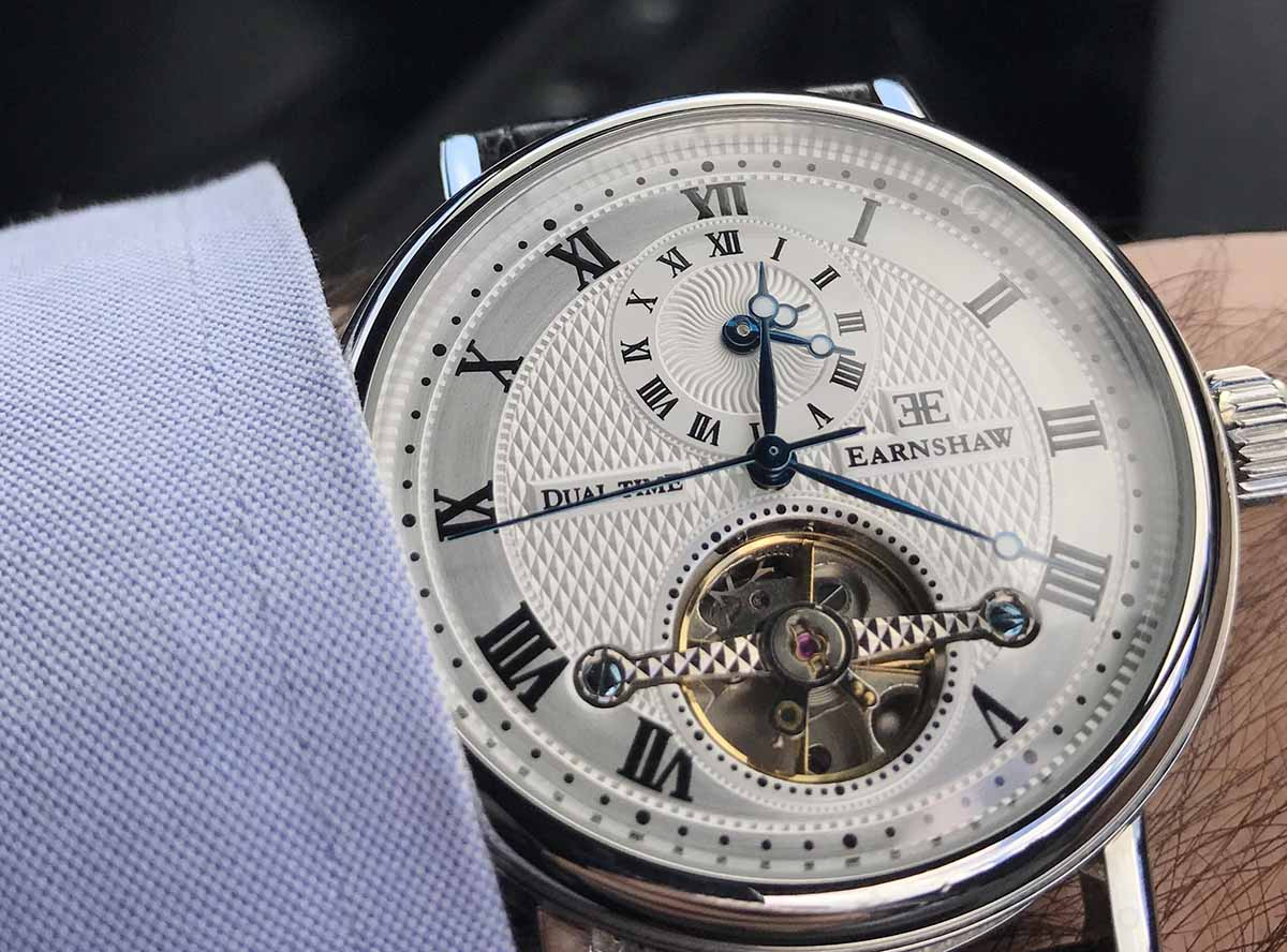Un orologio Thomas Earnshaw