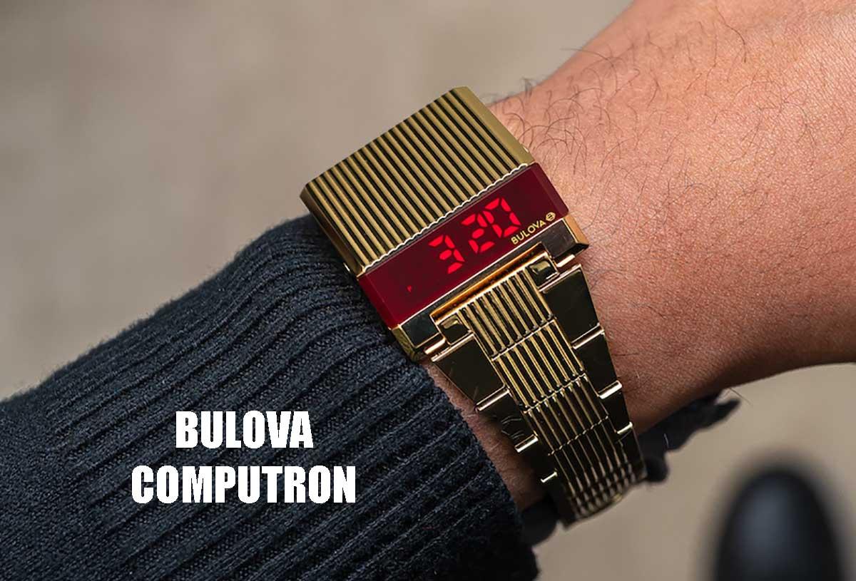 OROLOGIO Bulova Computron Led