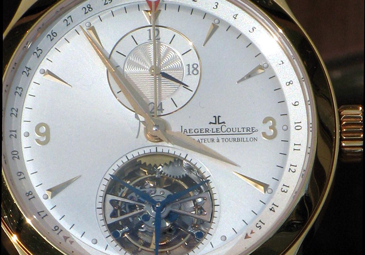 Un orologio Jaeger-Lecoultre, foto da Wikipedia