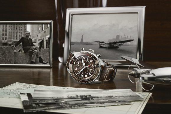 Iwc celebra l'80esimo del volo atlantico di Saint Exupery con un orologio speciale