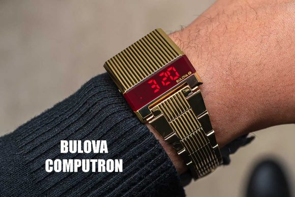 Bulova Computron: l'orologio che porta il passato nel futuro (e viceversa)