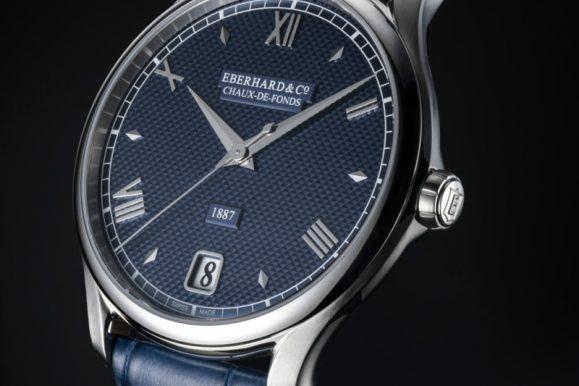 Orologi, nuova versione in blu per il modello 1887 di Eberhard & Co