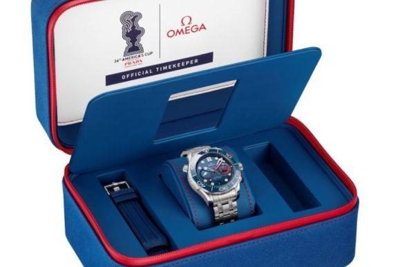 Omega lancia l'orologio-tributo Seamaster Diver 300M Americas' Cup