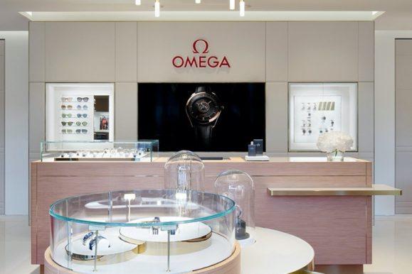 Omega: ecco gli interni della nuova boutique di Biel/Bienne
