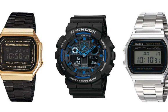Orologi Casio: quali sono i tre modelli più amati?