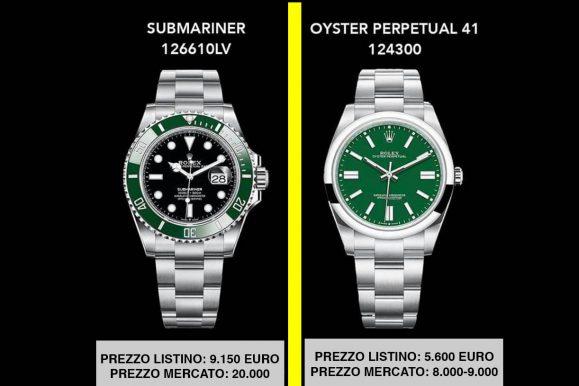Rolex Oyster Perpetual 41mm: 5.600 di listino, 8.000 in negozio. E' il prezzo giusto?