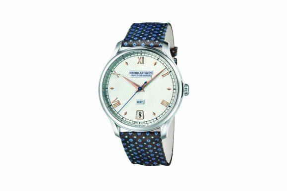 Ecco 1887, il nuovo orologio Eberhard: calibro EB140 e cinturini firmati Ulturale