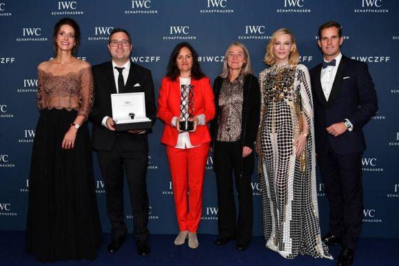 Cate Blanchett consegna il Filmaker Award in una cena privata organizzata da Iwc