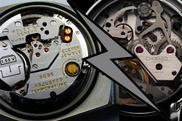 Orologio al quarzo vs orologio automatico: che differenze ci sono?