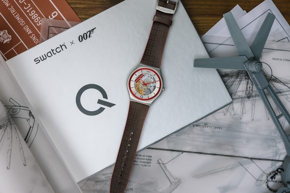 Swatch X 007: la missione segreta continua con un orologio in serie limitata
